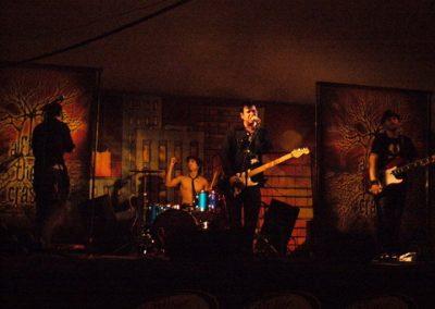 After The Crash US tour. Some Illinois summer music fest. 2009.