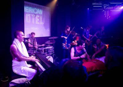Leicester Sq Theatre, London show with Ezra Exelrod. Feb 2012. © TINA KORHONEN/Tina-k.com.