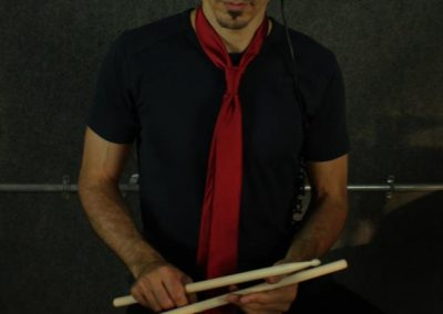 "During Salif Keita ""Moussolou"" Drum Cover video session. Melbourne, FL. July 2012."